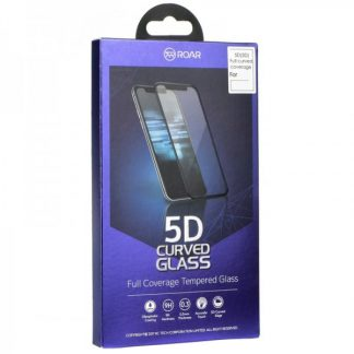 Folie Sticla Full Cover 3d Roar Huawei P20 Lite Negru