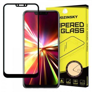 Folie Sticla Full Cover Full Glue Wozinsky Huawei Mate 20 Lite Cu Adeziv Pe Toata Suprafata Foliei Negru