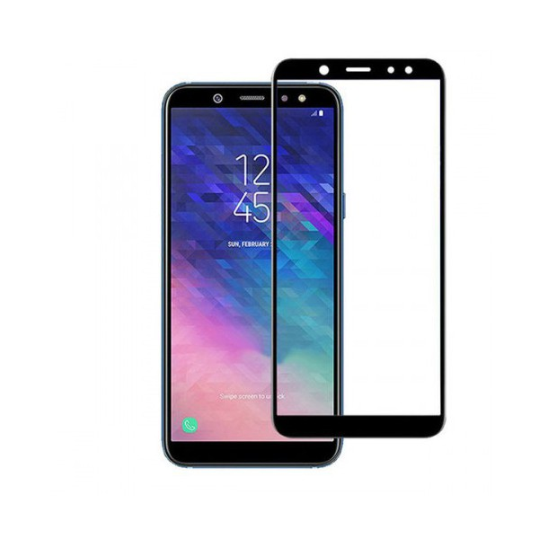 Folie Sticla Securizata 3d Full Cover Samsung A6+ 2018 Black