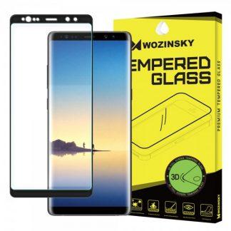 Folie Sticla Securizata Wozinsky 9h 3d Full Cover Samsung Note 8 Negru