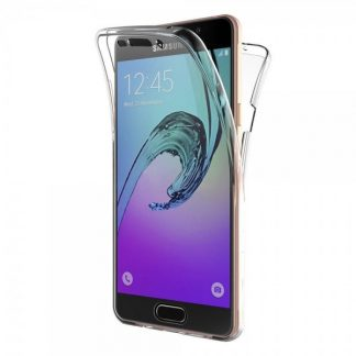Husa 360 Grade Full Cover Silicon Samsung Galaxy A5 2016 Transparenta