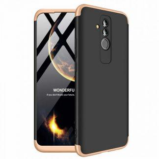 Husa 360 Grade Mixon Protection Huawei Mate 20 Lite Negru-Gold