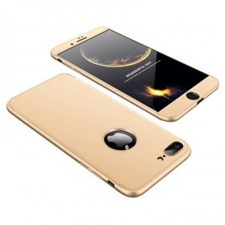 Husa 360 Grade Mixon Protection iPhone 7 Plus /8 Plus Gold
