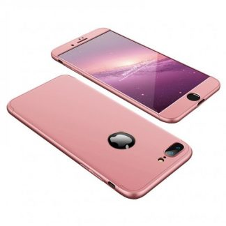Husa 360 Grade Mixon Protection iPhone 7 Plus /8 Plus Rose Gold