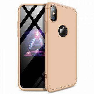 Husa 360 Grade Mixon Protection iPhone XS Max Gold