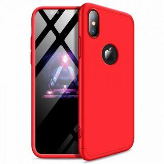 Husa 360 Grade Mixon Protection iPhone XS Max Red