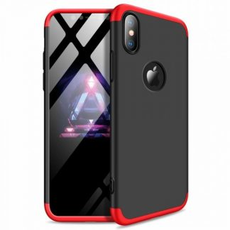 Husa 360 Grade Mixon Protection iPhone XS Max Red-Negru