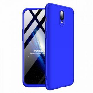Husa 360 Grade Mixon Protection OnePlus 6T Albastru