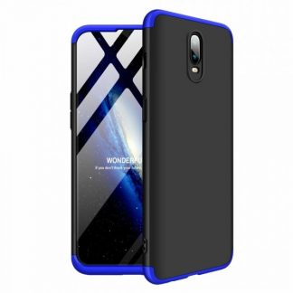 Husa 360 Grade Mixon Protection OnePlus 6T Negru-Albastru