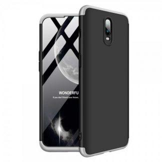 Husa 360 Grade Mixon Protection OnePlus 6T Negru-Silver