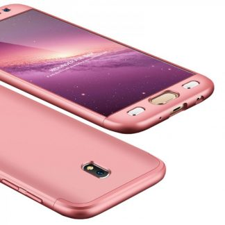 Husa 360 Grade Mixon Protection Samsung Galaxy J3 2017 Roz