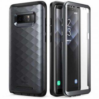 Husa 360 Grade Supcase Samsung Note 8 Clayco Hera Black