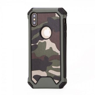 Husa Anti-shock Army Armoro Mixon iPhone X/XS Verde