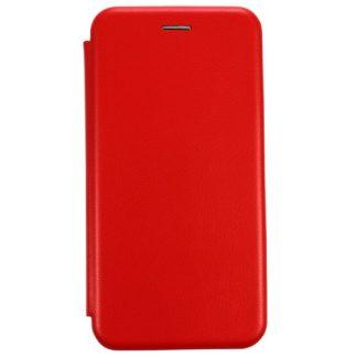 Husa Flip Carte Cu Magnet Lux Mixon Huawei Mate 10 Lite Rosu