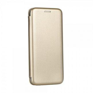 Husa Flip Carte Cu Magnet Lux Mixon iPhone 5S /5SE Gold