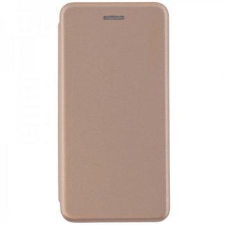 Husa Flip Carte Cu Magnet Lux Mixon Nokia 7 Plus Gold
