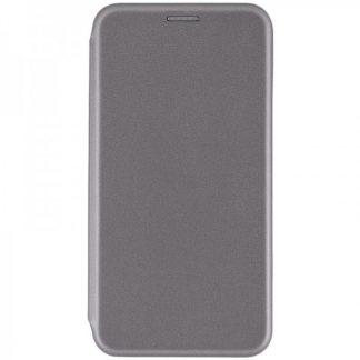 Husa Flip Carte Cu Magnet Lux Mixon Nokia 7 Plus Gri