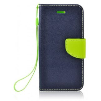 Husa Flip Carte Fancy Book Htc 530 Albastru