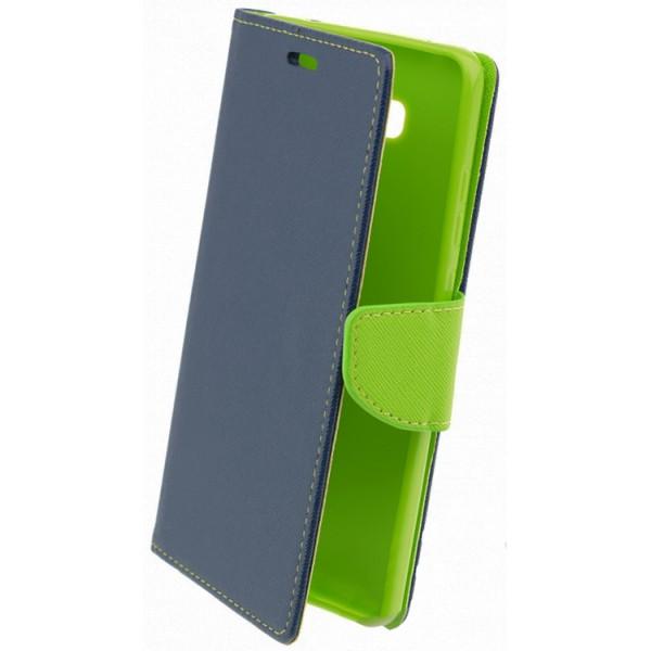 Husa Flip Carte Fancy Book Huawei Mate 9 Albastru