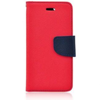 Husa Flip Carte Fancy Book Huawei P9 Lite Rosu