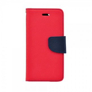 Husa Flip Carte Fancy Book iPhone 5S/5SE Blue Red