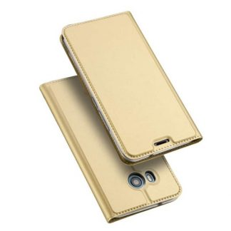 Husa Flip Cover Premium Duxducis Skinpro Htc U11 Gold