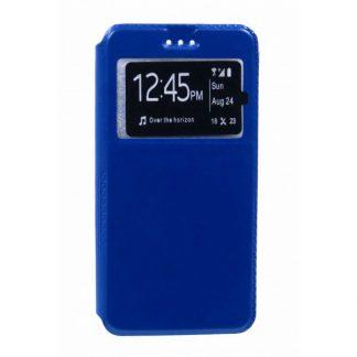 Husa Flip Tip Carte Mixon Huawei P10 Plus Dark Blue