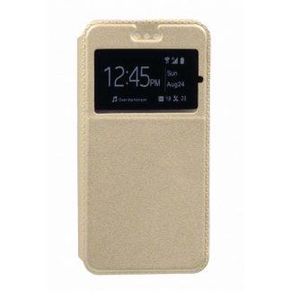Husa Flip Tip Carte Mixon Huawei P8 Lite Gold