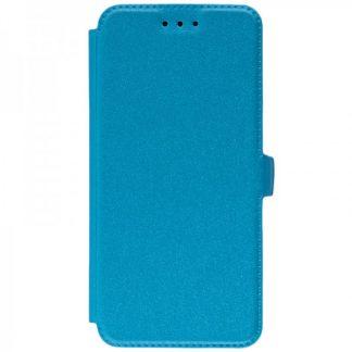 Husa Huawei P20 Flip Cover Pocket Blue