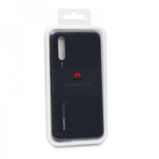 Husa Huawei P20 Originala Silicon Case Black