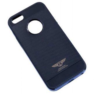 Husa Ikaku Hybrid Fiber iPhone 5 - 5s Negru Albastru