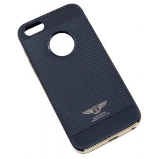 Husa Ikaku Hybrid Fiber iPhone 5 - 5s Negru Gold