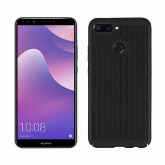Husa Lux Hard Ultra Slim Mixon Air-up Huawei Y7 2018 Black