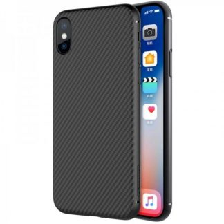 Husa Nillkin Synthetic Fiber iPhone X/XS Neagra