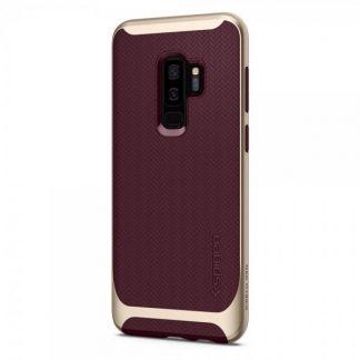 Husa Originala Spigen Neo Hybrid Samsung S9+ Plus Burgundy