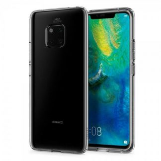 Husa Premium Originala Spigen Liquid Crystal Huawei Mate 20 Pro Silicon Transparent