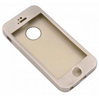 Husa Protectie Silicon 360 Grade Mixon iPhone 5-5s-se Gold