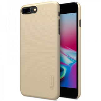 Husa Slim iPhone 8 Plus Nillkin Frosted Gold