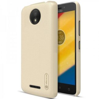 Husa Slim Nillkin Frosted Moto C Plus Gold