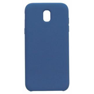 Husa Soft Silicon Mixon Alcantara Samsung J5 2017 Blue
