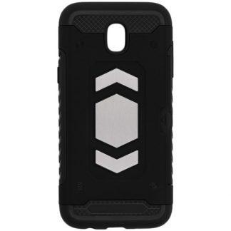 Husa Spate Anti-shock Forcell Magnet Case Samsung J7 2017 Negru