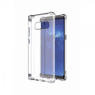 Husa Spate Crystal Clear Thin Fit Samsung Note 8 Transparenta Cu Tehnologie Air-cushion