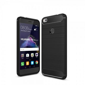 Husa Spate Forcell Carbon Pro Huawei P8 Lite Black