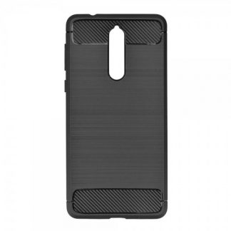 Husa Spate Forcell Carbon Pro Nokia 8 Black