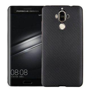 Husa Spate I-zore Fiber Huawei Matte 9 Negru