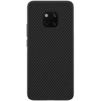Husa Spate Mixon Carbon Fiber Huawei Mate 20 Pro Neagra