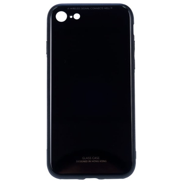 Husa Spate Mixon Glass Pro iPhone 7/8 Negru