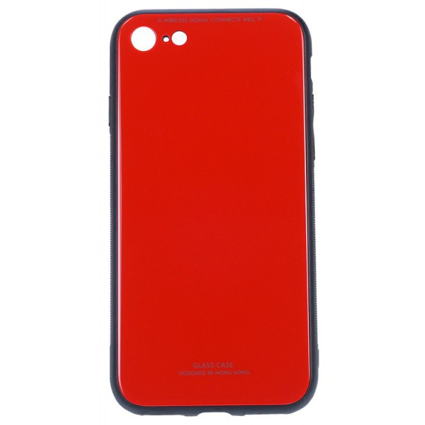 Husa Spate Mixon Glass Pro iPhone 7/8 Red