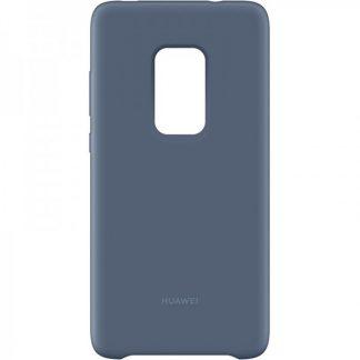 Husa Spate Originala Huawei Mate 20 Silicon Albastru