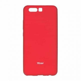 Husa Spate Roar Jelly Case Huawei P10 Plus Rosu